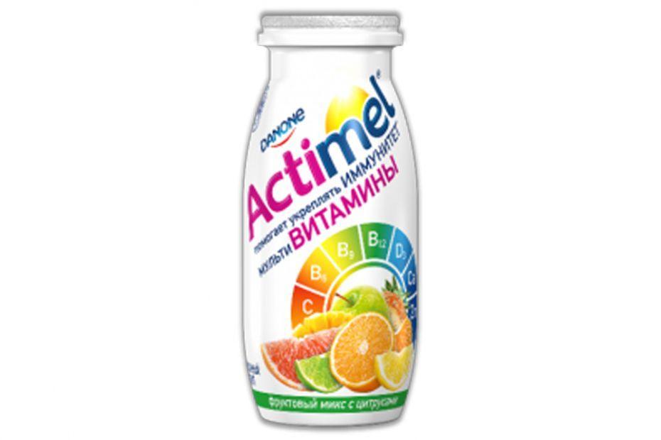 Кисломолочный напиток Actimel Цитрусовый микс 2,5%