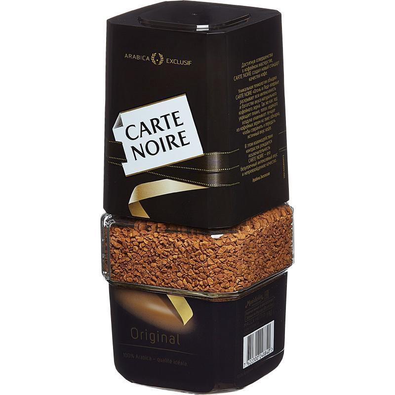 Кофе Carte Noire 100% натуральный растворимый сублимированный
