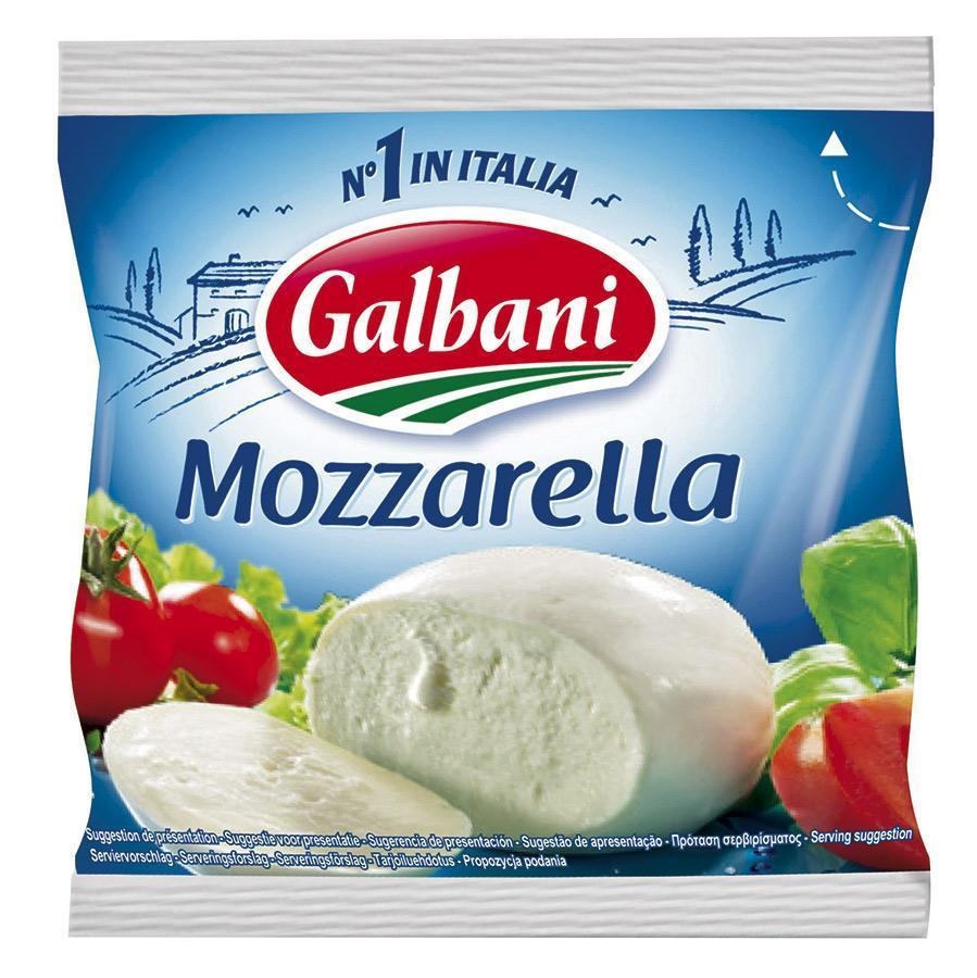 Сыр Galbani Моцарелла в рассоле 45%, Россия