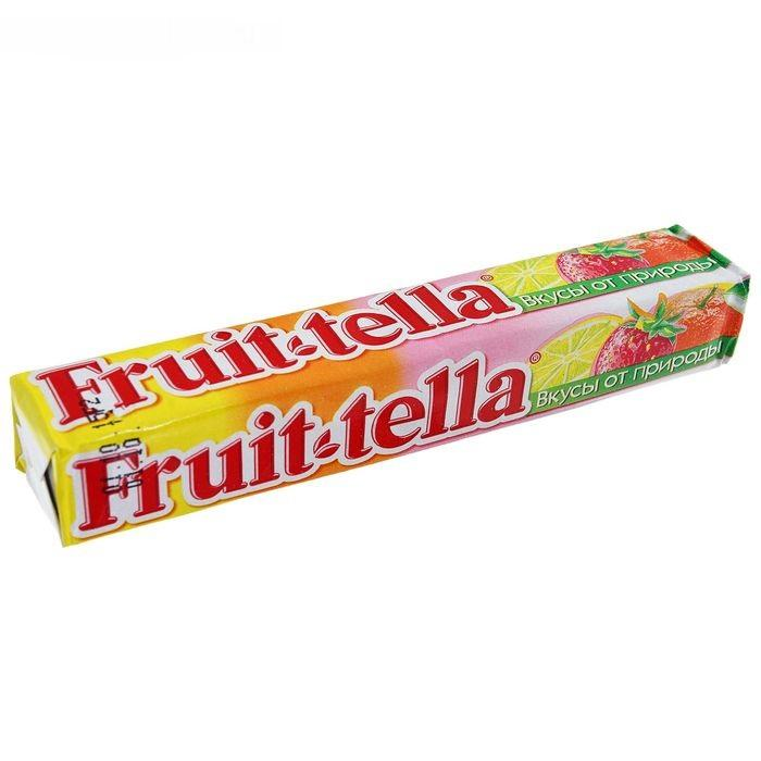 Жевательная конфета Fruittella Ассорти