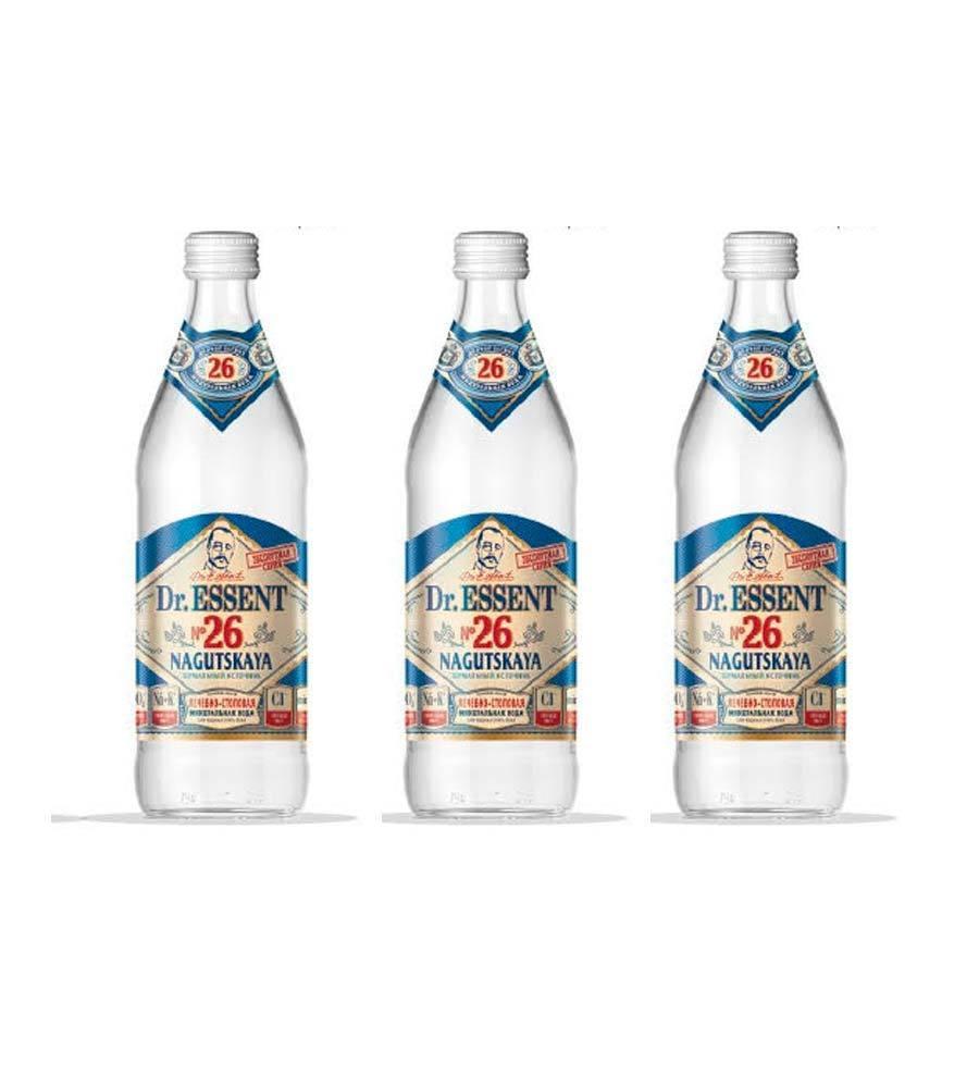 Вода минеральная Dr. Essent 26 Нагутская