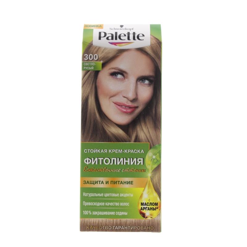 Краска для волос Palette Фитолиния 300 Светло-русый