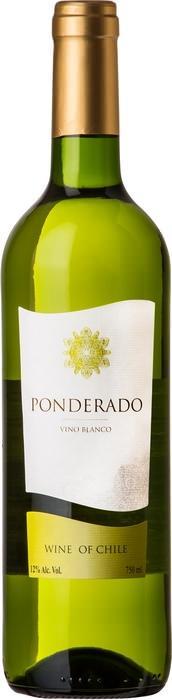 Вино Пондерадо Бланко / Ponderado Blanco,  Ассамбляж белых сортов,  Белое Сухое, Чили