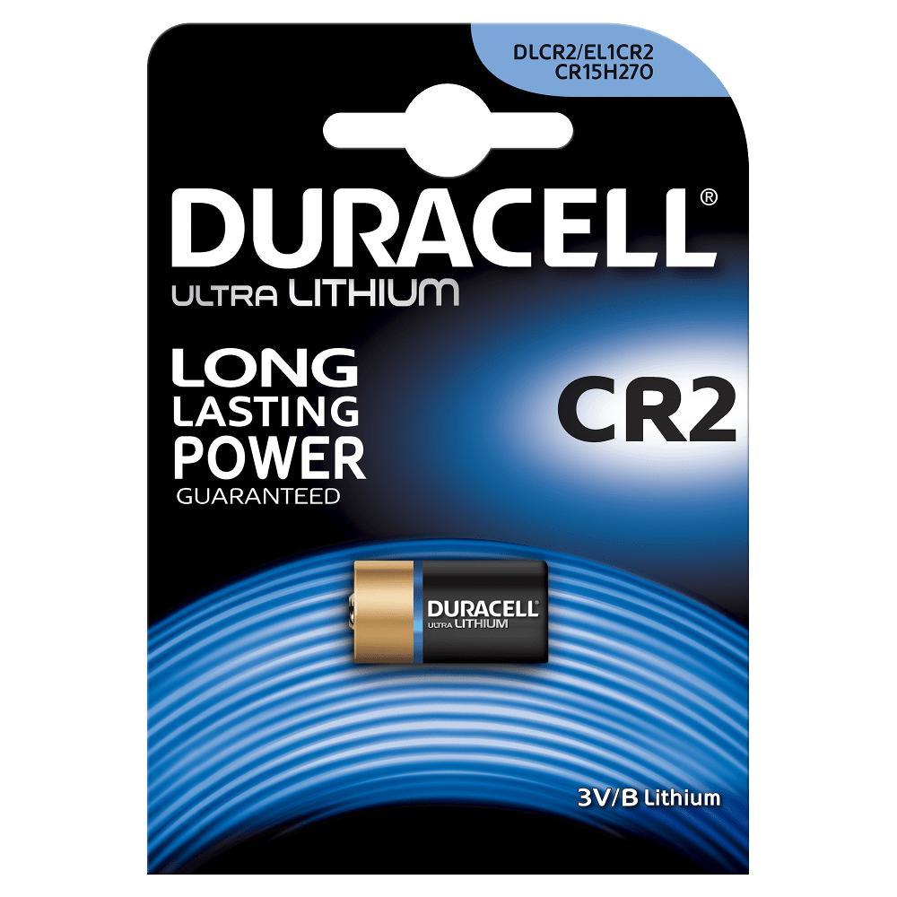 Батарейка Duracell CR2 Литиевая 1шт