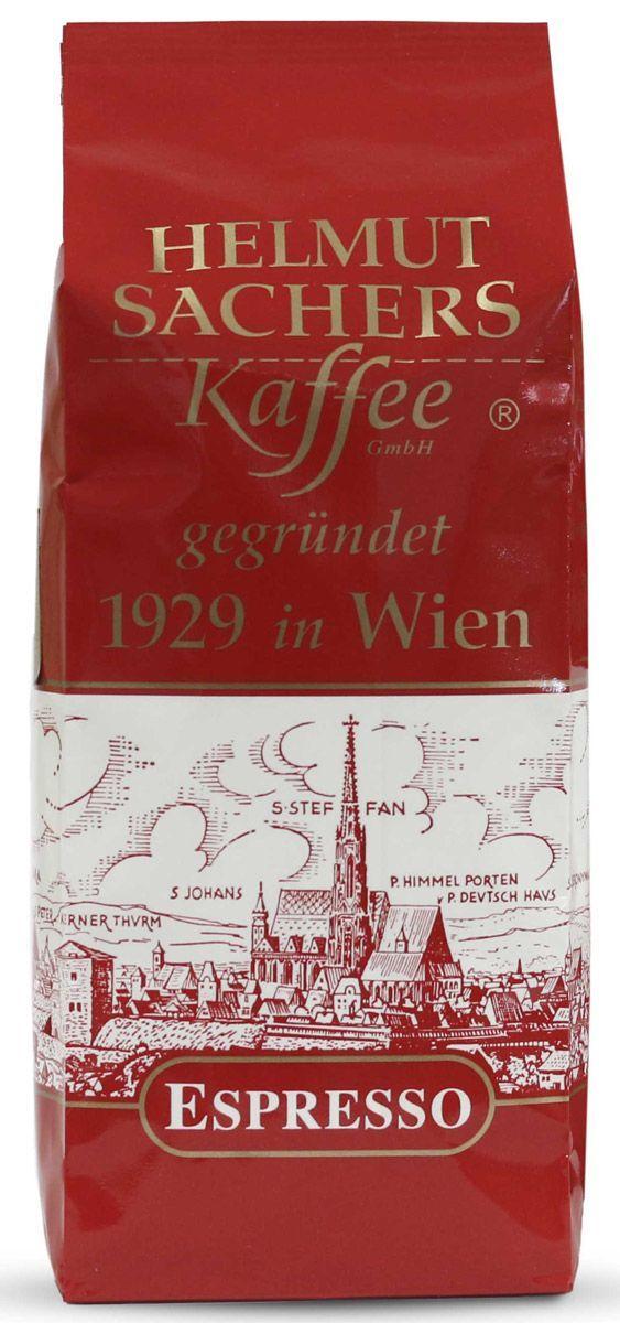 Кофе Helmut Sachers Эспрессо молотый жареный