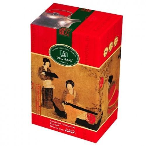 Чай Тянь Жень Китайский черный 100 гр