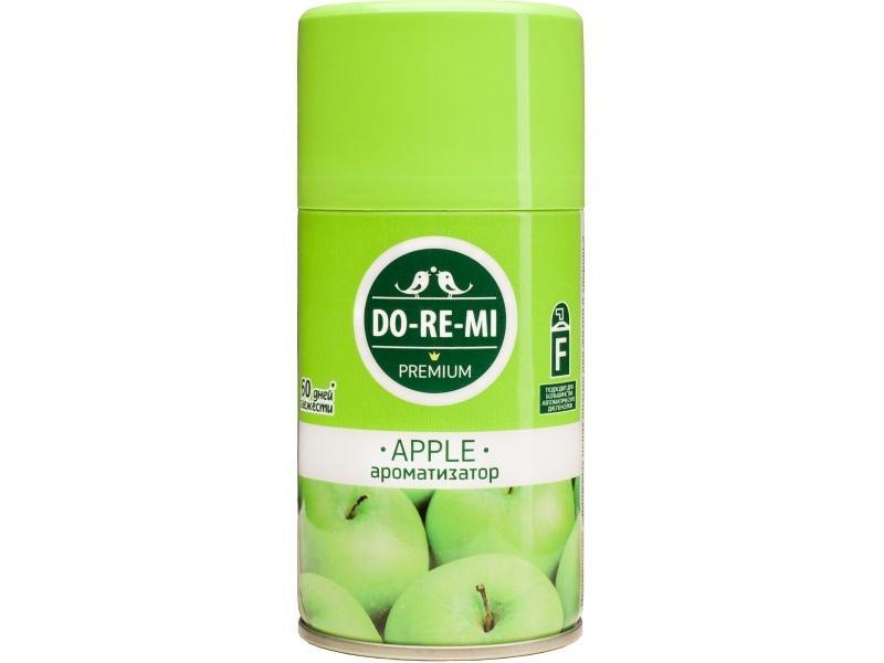 Освежитель воздуха До-ре-ми Премиум Зеленое яблоко Сменный блок