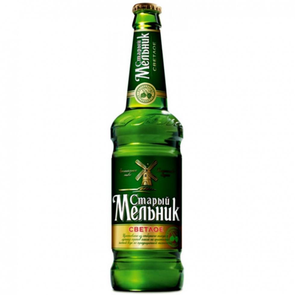 Пиво Старый Мельник Светлое 4,6%