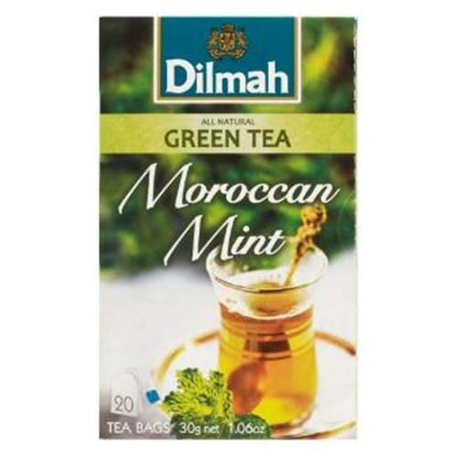 Чай черный Dilmah Moroccan Mint 20 пакетов