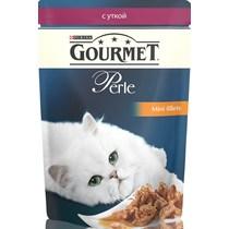 Корм Gourmet для кошек Perle мини-филе утка