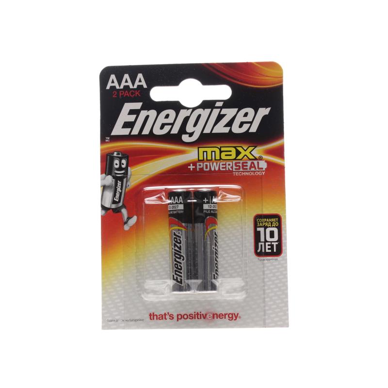 Батарейка Energizer Max тип ААA/LR03 1,5V 2шт.