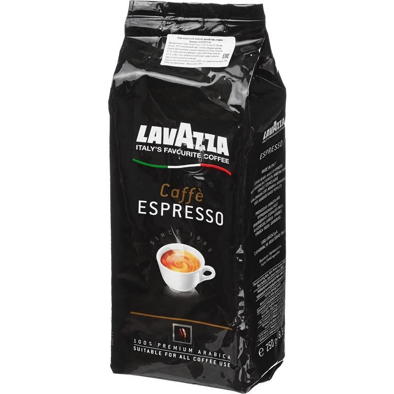 Кофе Lavazza Эспрессо в зернах