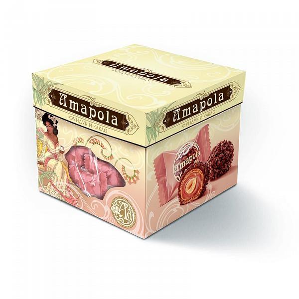 Конфеты Amapola Фундук и какао