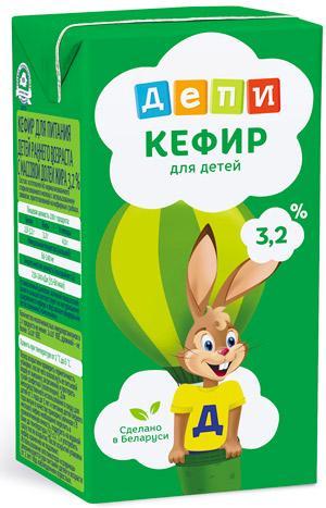 Кефир Депи Детский 3,2%