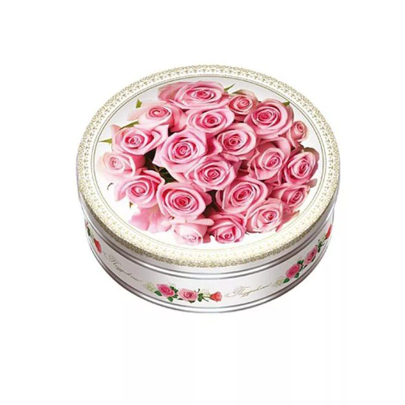 Печенье Сладкая Сказка Monte Christo Розовый этюд с кокосовой стружкой