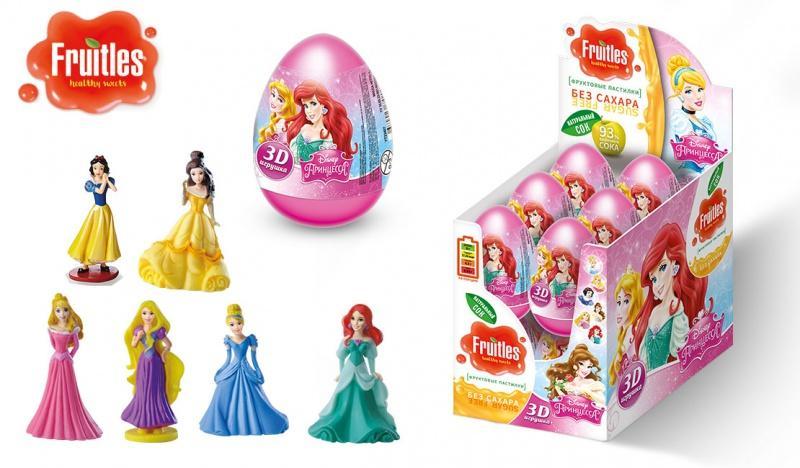 Пастилки Fruitles Disney Принцесса фруктовые