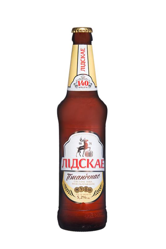 Пиво Лидское Пшеничное светлое