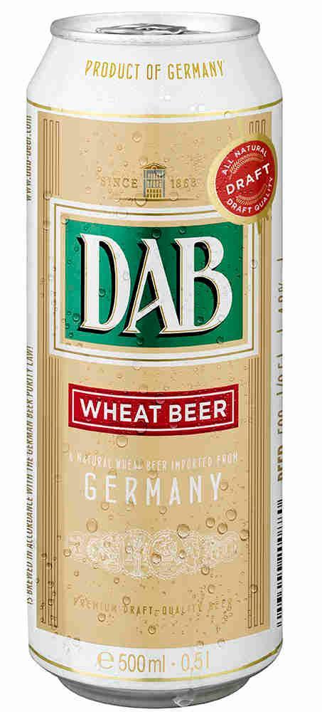Пиво Dab Wheat Beer пшеничное нефильтрованное 4,8%