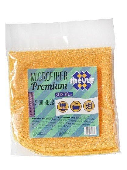 Салфетка-скрабер Meule Premium микрофибра 30*30см