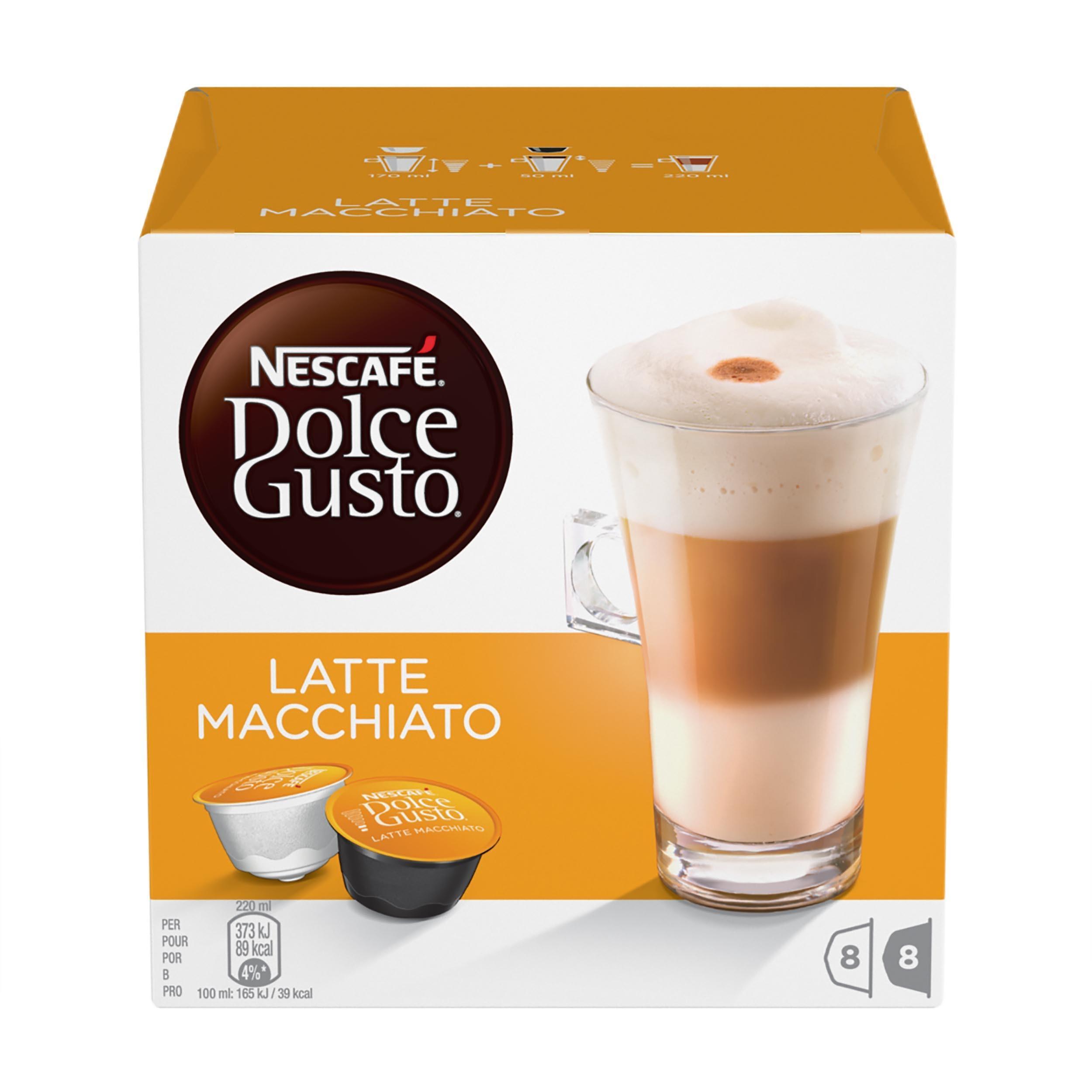 Кофе Nescafe Dolce Gusto Latte Macchiato капсульный 194.4 гр
