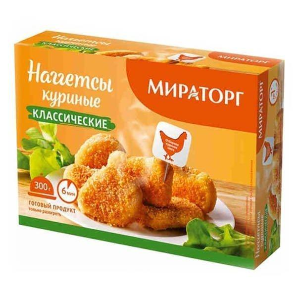 Наггетсы Мираторг куриные классические