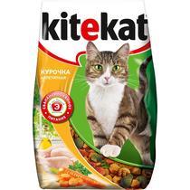 Корм для кошек Kitekat Курочка аппетит сухой, 1,9кг