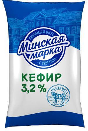 Кефир Минская марка 3,2%