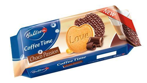 Печенье Bahlsen Choco Passion Coffee Time