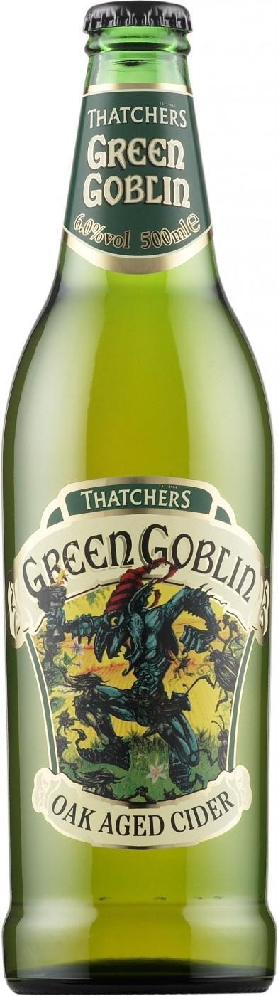 Сидр Thatchers Green Goblin яблочный 5%