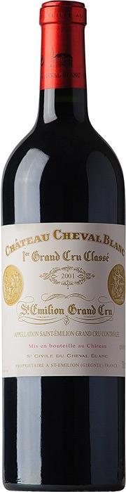 Вино Шато Шеваль Блан 1-й Гран Крю Классе А / Chateau Cheval Blanc 1-er Grand Cru Classe A,  Мерло, Каберне Фран,  Красное Сухое, Франция