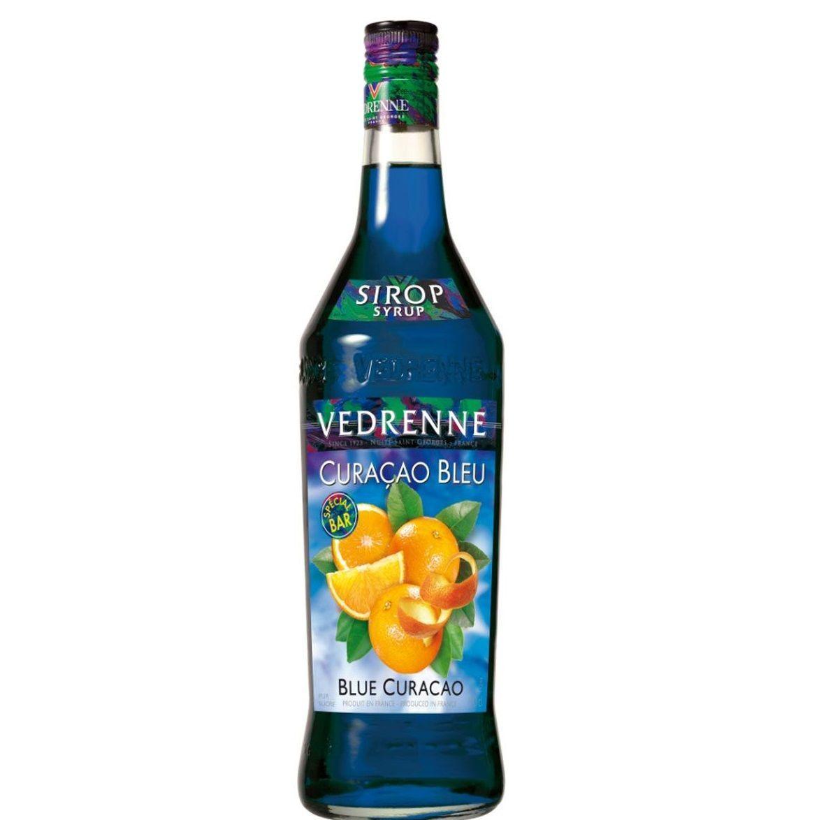 Сироп Vedrenne Curacao Bleu
