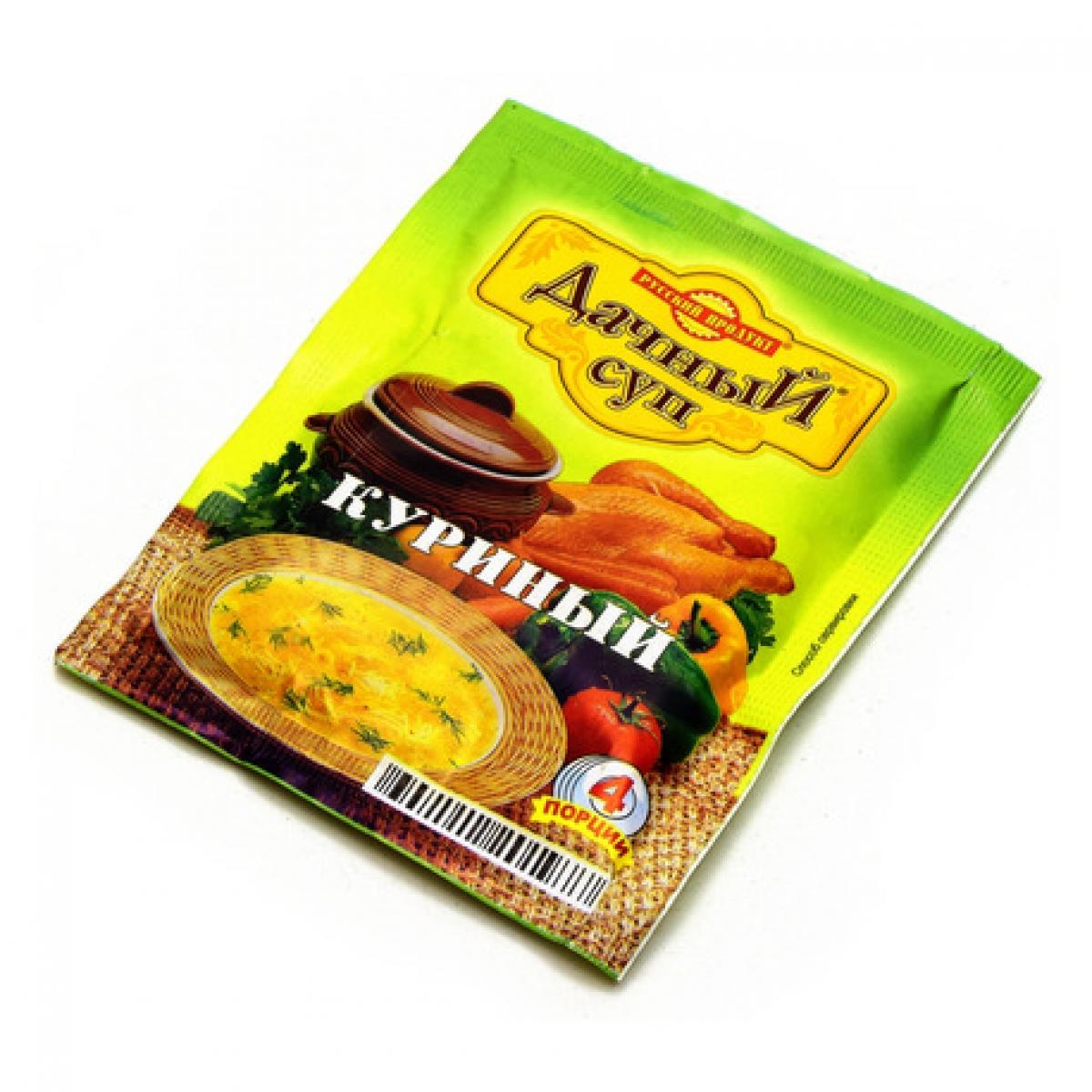 Суп Русский Продукт Куриный