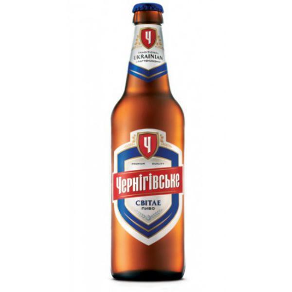 Пиво светлое 4,8% Черниговское 500 мл., Стекло