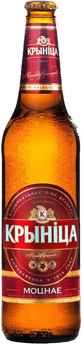 Пиво Крыница светлое пастеризованное 6,5%