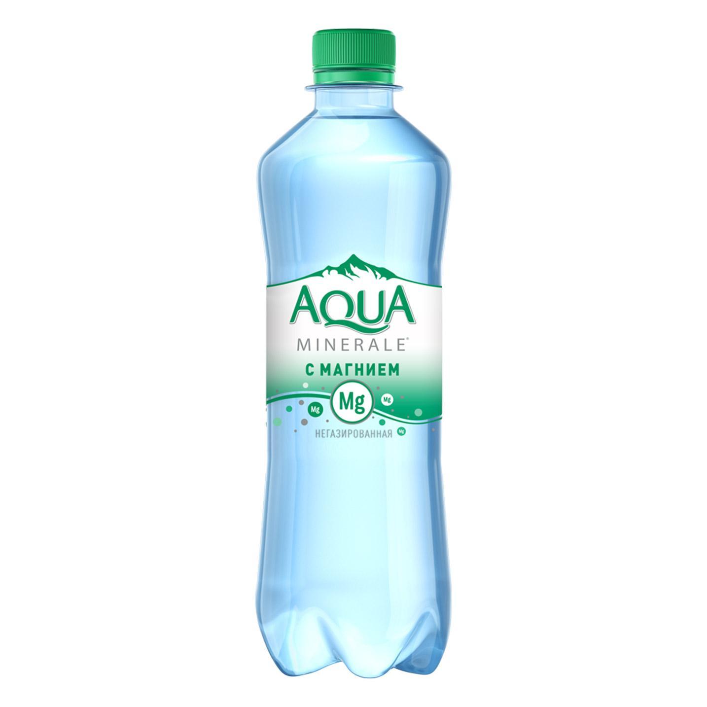 Вода Aqua Minerale Плюс негазированная
