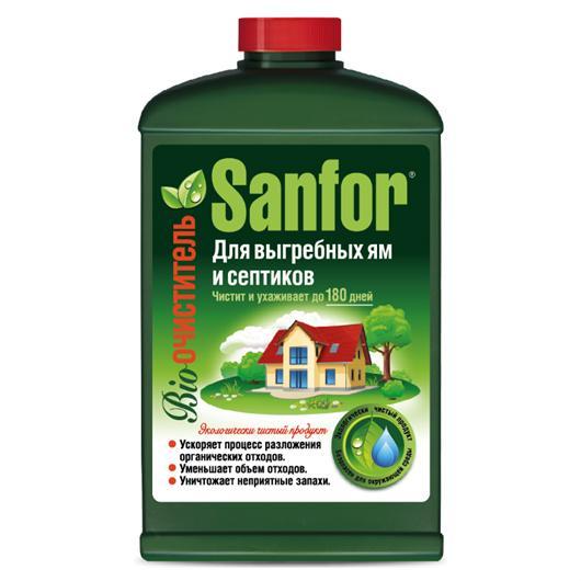 Биоочиститель Sanfor для выгребных ям и септиков