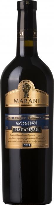 Вино Марани Напареули / Marani Napareuli,  Саперави,  Красное Сухое, Грузия