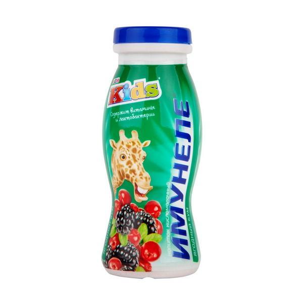 Напиток кисломолочный Imunele For Kids Ягодный бум