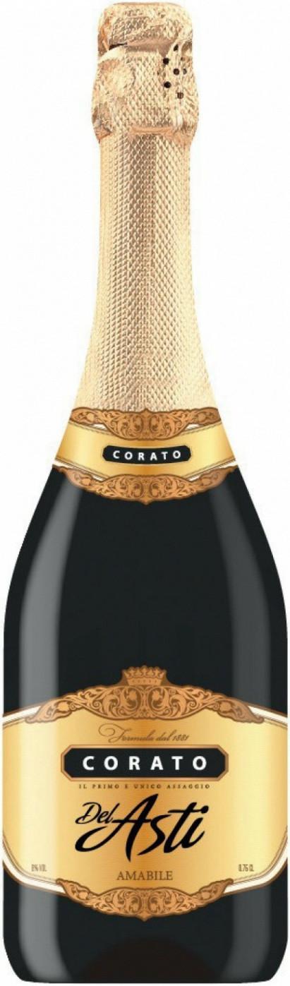Винный напиток Corato del Asti gold белое полусладкое