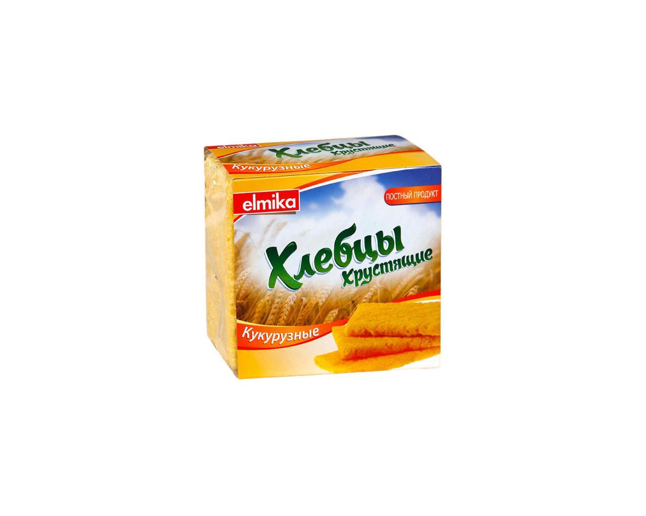 Хлебцы Elmika хрустящие кукурузные