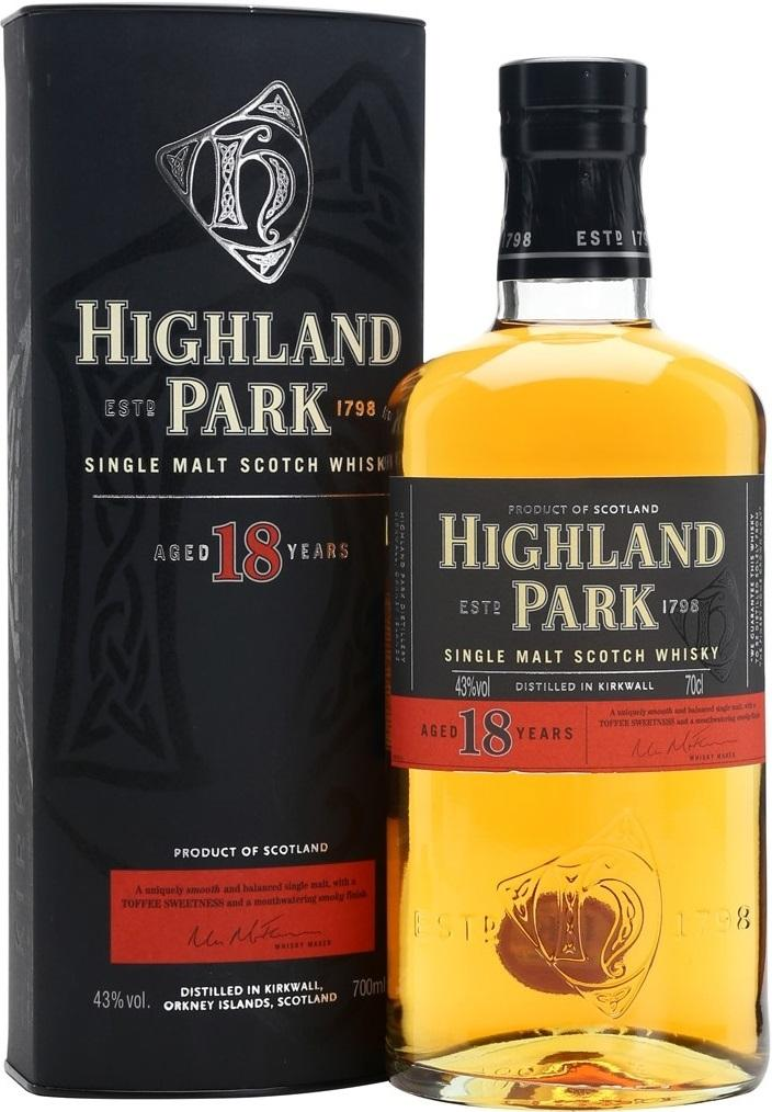 Виски Highland Park 18 Years Old, Шотландия