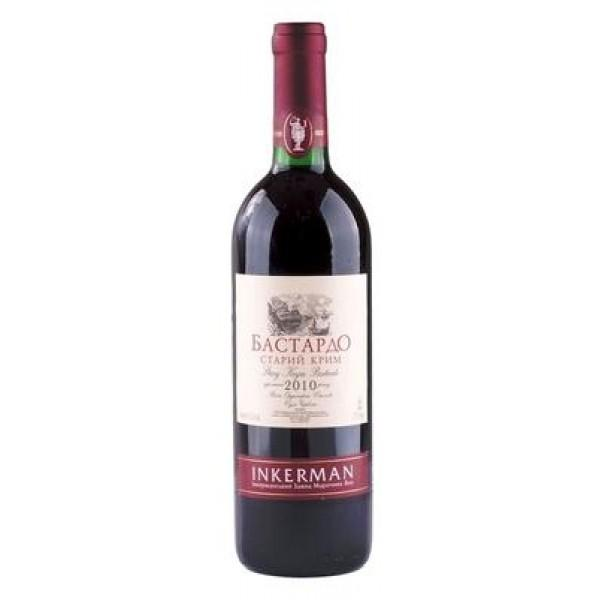 Вино Inkerman Бастардо столовое сухое красное