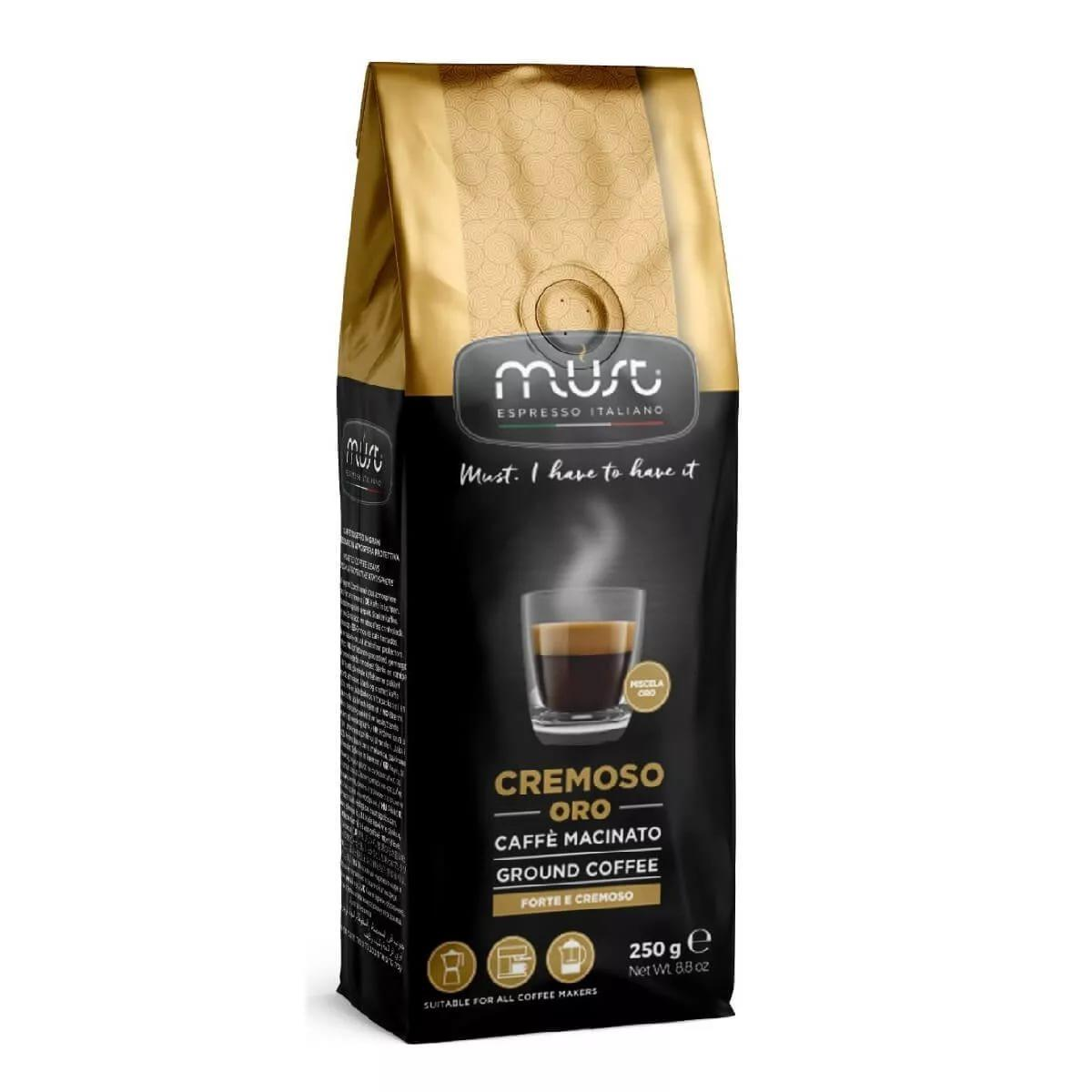 Кофе Must Cremoso Oro в зернах