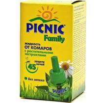 Жидкость Picnic Family от комаров 45 ночей