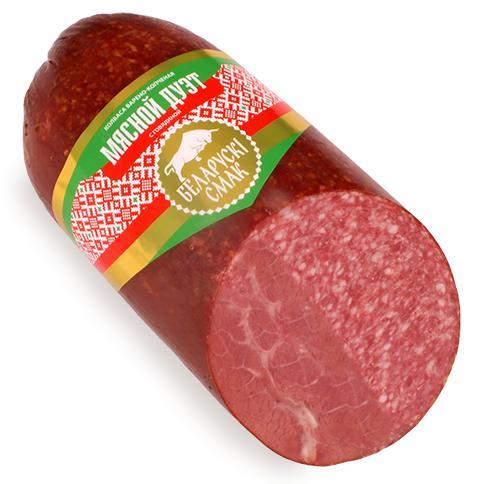 Сервелат Белорусский смак Мясной Дуэт с говядиной