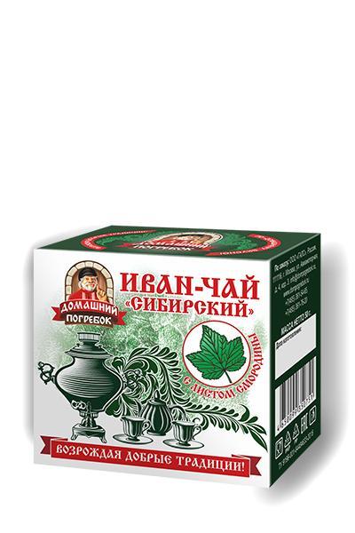 Чай Домашний погребок Иван-Чай Сибирский листовой 50 гр