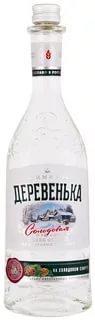 Водка Зимняя Деревенька на солодовом спирте Альфа 40%