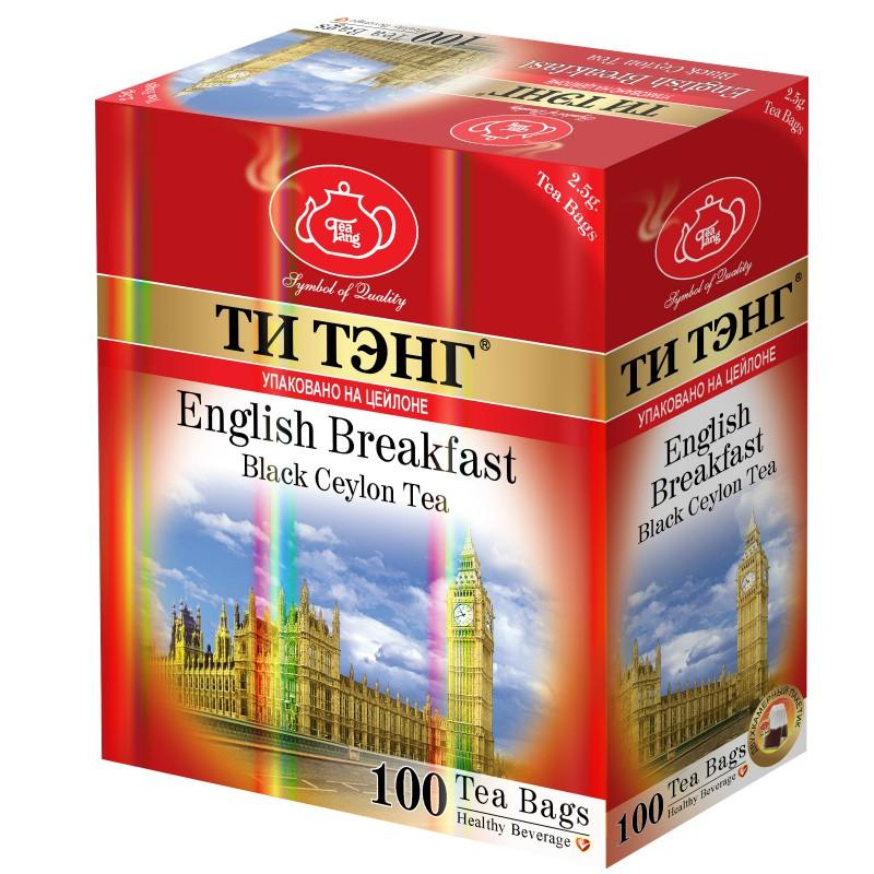 Чай Ти Тэнг Английский завтрак черный в пакетиках