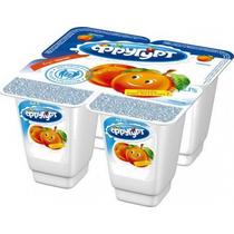 Йогурт Фругурт персик 2,5% 100 г
