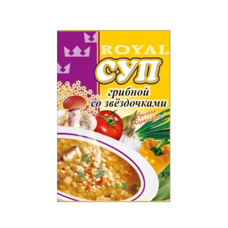 Суп Royal Food Грибной со звездочками